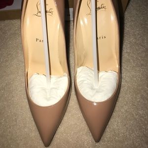 Christian Louboutin- Pigalle Follies Nude 100mm